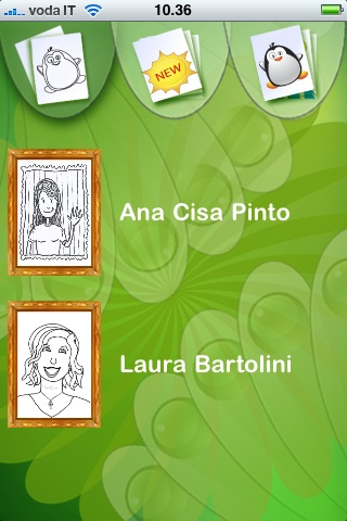 Screenshot Real Artists Coloring Book
